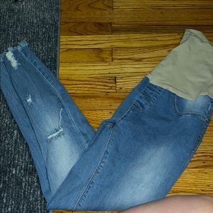 Other - Maternity jeans like new. High waist elastic.